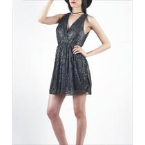 Vestido De Fiesta Corto - Talle M