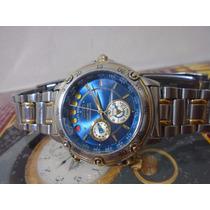 Seiko Yatch Timer Cronografo Calibre 6m37 6000 Raro Coleção