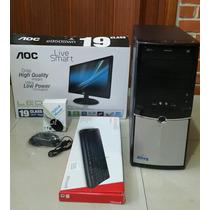 Computador I3 Con Monitor Teclado Y Mouse Nueva