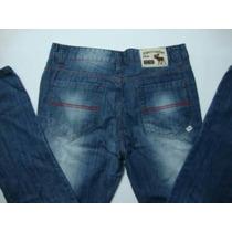 Kit Com 2 Calças Jeans, Abercrobie, Hollister, Tommy,lacoste