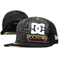 Dc New Era Rockstar Energy Exclusivo Gorro Fitted Talla 7