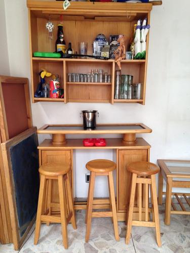 Cantina madera grand home 5 en mercado libre - Revestir pared con madera ...