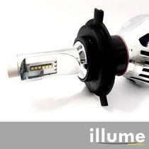 Bulbos Luces Illume Led Philips 3600lm Superior Xenón H4 H7