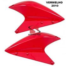 Aba Tanque Superior Xre300 Vermelho 2010 Par