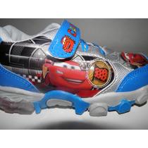 Zapatillas Cars Con Luces.