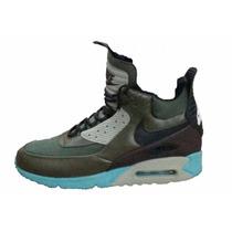 Zapatillas Botitas Nike Air Max 90 Hombre Importadas