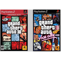 Patch Gta 3 E Vice City Para Ps2 Desbloqueado