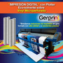 Impresión Digital Plotter Eco-solvente Sobre Microperforado