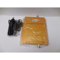 Antena Amplificado Repetidor Señal Celular Dual Band 80db 3g