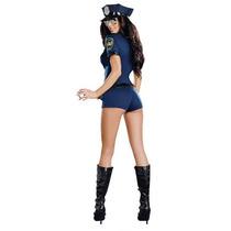 Sexy Disfraz Policia Halloween Incluye Todo Y Envio
