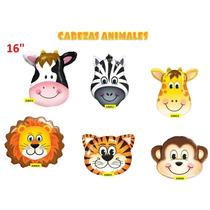 Globos Animales Selva 6 Pz