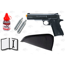 Marcadora Airsoft Co2 Colt Commander Bbs Metal .177 Xtreme