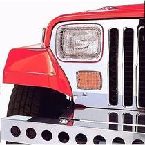 Rejillas Faros Y Cuartos Jeep Wrangler 1987 - 1995