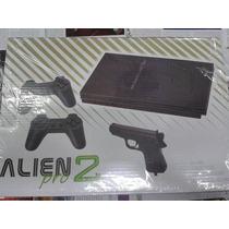Consola De Video Family Alien 2,joystick Pistola Juegos