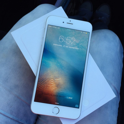 Iphone 6 Plus 16gb Impecable Estetica 10 Libre  - $ 8,500.00 en Mercado Libre