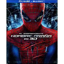 Bluray 3d + Br Sorprendente Hombre Araña ( Amazing Spiderman
