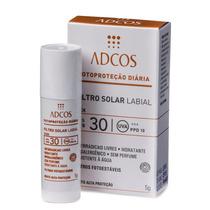 Filtro Protetor Solar Labial Bastão Incolor Fps 30 5g Adcos