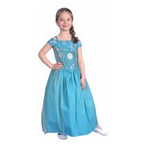 Disfraz Disney Frozen Elsa Fiebre Congelala - Mundo Manias