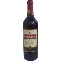 Vinho Halberth Bordô Suave 750 Ml