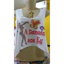 Cropped Blusa Blusinha Para O Carnaval Abadá