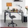 Articulo Nuevo Muebles Silla De Oficina Base De Metal Negrot
