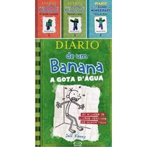 Kit Minecraft (1+2+3) + Diario De Um Banana (livro 3)