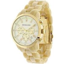 Relógio Michael Kors Mk5217 Madrepérola E Dourado - Feminino