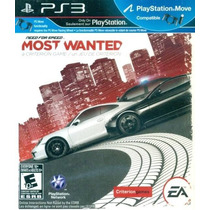 Need For Speed Most Wanted Ps3 Nuevo De Fabrica