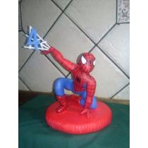 Adorno De Torta Del Hombre Araña Porcelana Fria