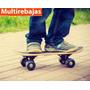 Patineta Skate Con Lija Antideslizante Para Niños Y Jovenes