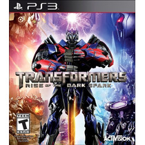 Transformers Rise Of The Dark Spark Ps3 + Dlc Digital