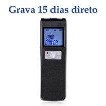 Gravador Voz16gb Profissional Digital Detecção-voz Espião