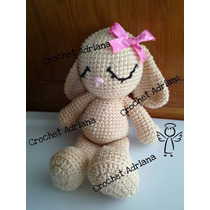 Conejita Cute Crochet Tejido Amigurumi