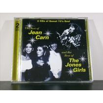 Jean Carn & Jones Girls Best Of Cd Duplo Imp Raro Soul Av8