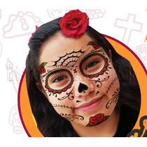 15 Tatuajes Temporales De Catrina Y Catrin Para Halloween