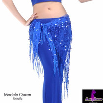 Elegante Fajilla Pareo De Colores Danza Arabe Bellydance