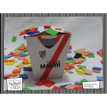 Souvenir Personalizado Caja Futbol Argentino River Plate
