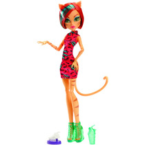 Boneca Monster High Excursão Monster Toralei - Mattel