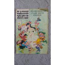 Blanca Nieves Y Los Siete Enanos Clasicos Infantiles 70`s