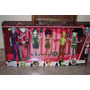 Monster High Consulado De Estudiantes Pack De 5 De Mattel