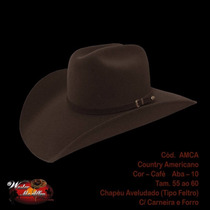 Chapéu Cowboy Country Rodeio Masuculino Feminino Festa Moda