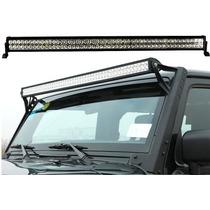 Barra Con Luces Led Para Techo Jeep Wrangler 2007 - 2013