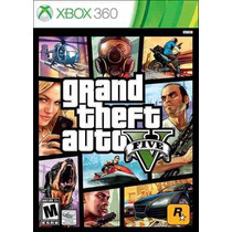 Grand Theft Auto V Gta 5 Em Português Mídia Física Xbox 360