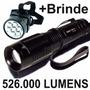 Lanterna Tática Led T6 Recarregável Policial Potente Cabeça