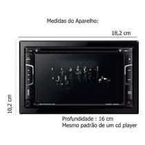 Dvd Automotivo 2din Napoli 7335,gps,tv Digital,bth,camera Ré