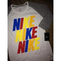 Oferta Blusa Camiseta Nike Nueva Para Mujer Talla S Chica