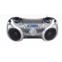 Boombox Portátil Mp3 Radio Am/fm