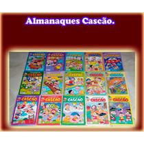 Lote, Almanaques Do Cascão - Panini 24 Gibis Turma Da Monica