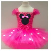 Tutú Dress Minnie Vestido Fiesta Hermoso Envio Gratis