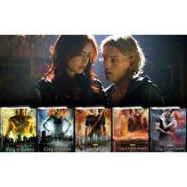 Libros Saga Cazadores De Sombras Saga 1-2-3-4-5-6
